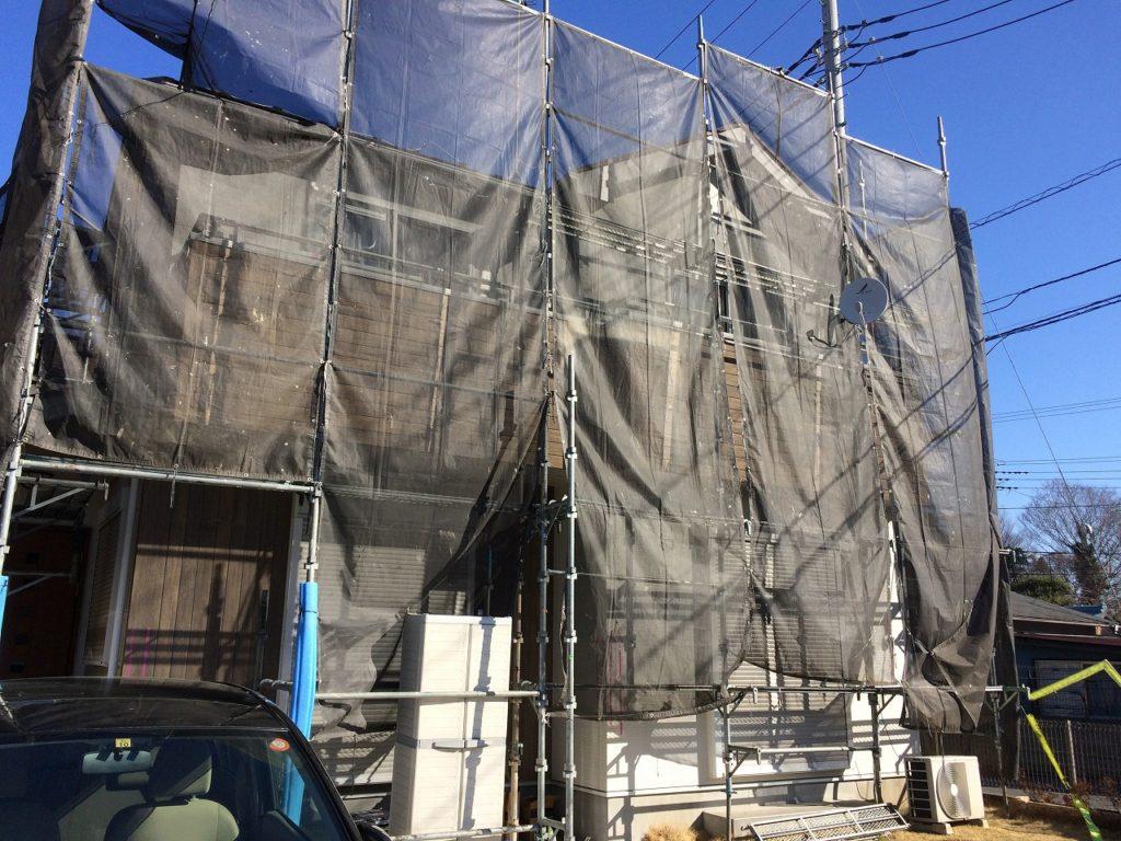 千葉県成田市,外壁リフォーム,外壁塗装 (2)