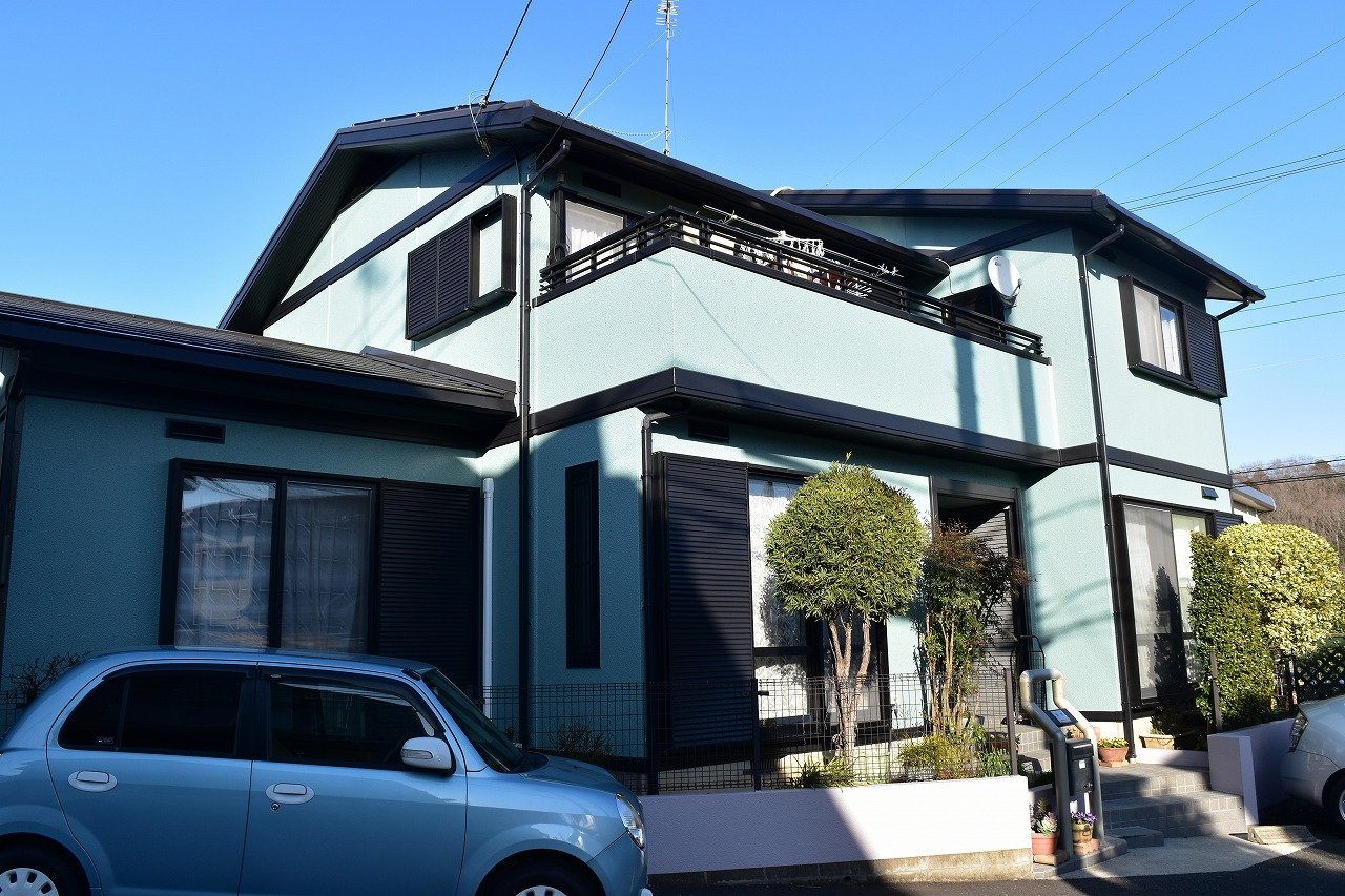 千葉県印旛郡A様邸 外壁塗装・屋根塗装工事が完了しました!