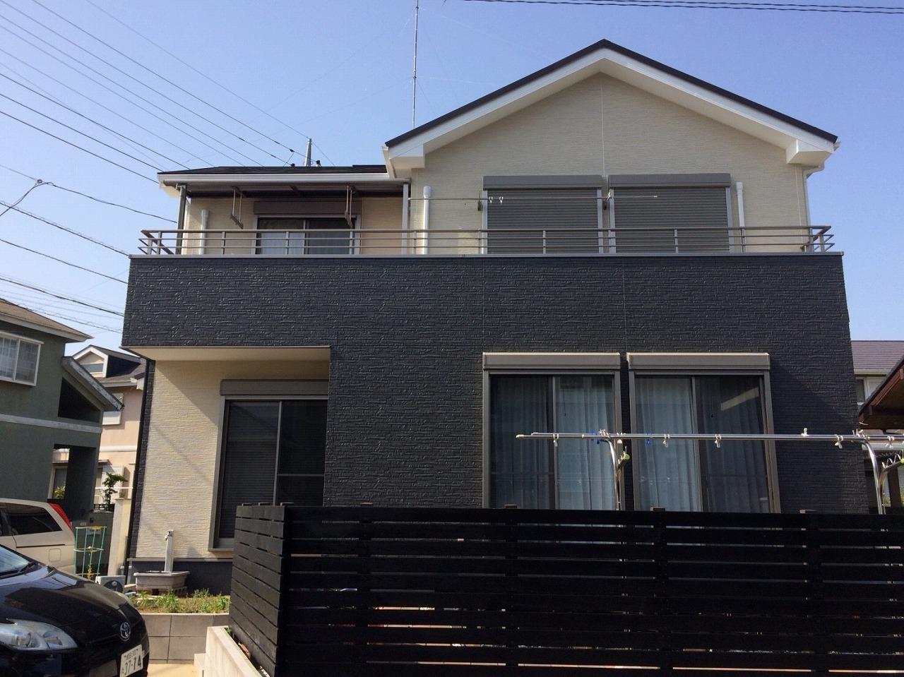 千葉県富里市K様邸 外壁塗装・屋根塗装工事が完成しました!