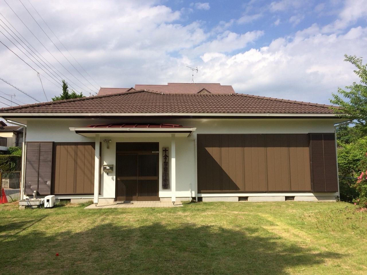 千葉県富里市「集会所」 外壁塗装・リフォーム工事が完成しました!