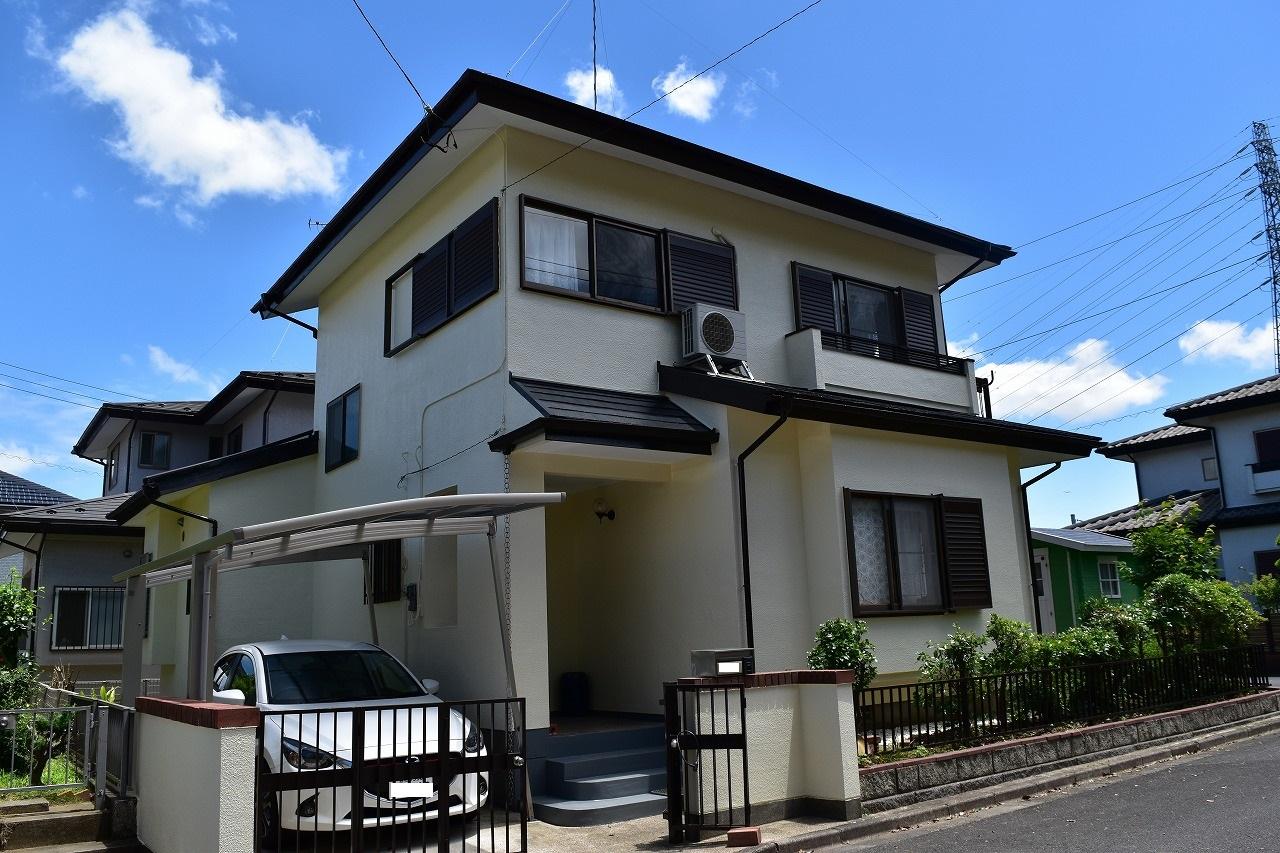 千葉県印旛郡Y様邸 外壁塗装・屋根塗装が完成しました!