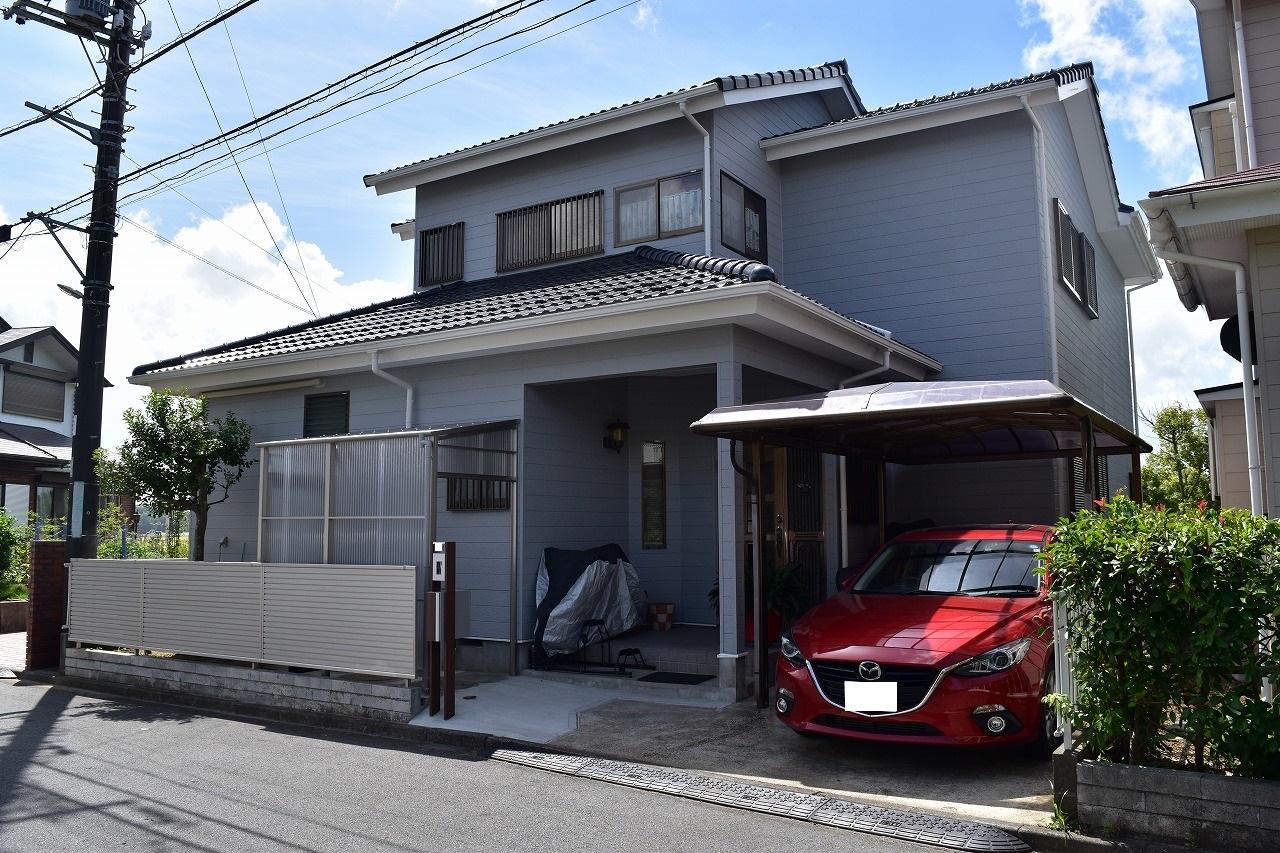 千葉県印旛郡I様邸 外壁塗装・屋根塗装工事が完了しました!