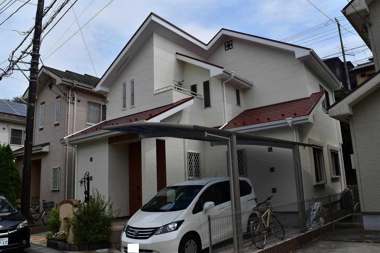 千葉県船橋市K様邸 外壁塗装・屋根塗装工事が完成しました!