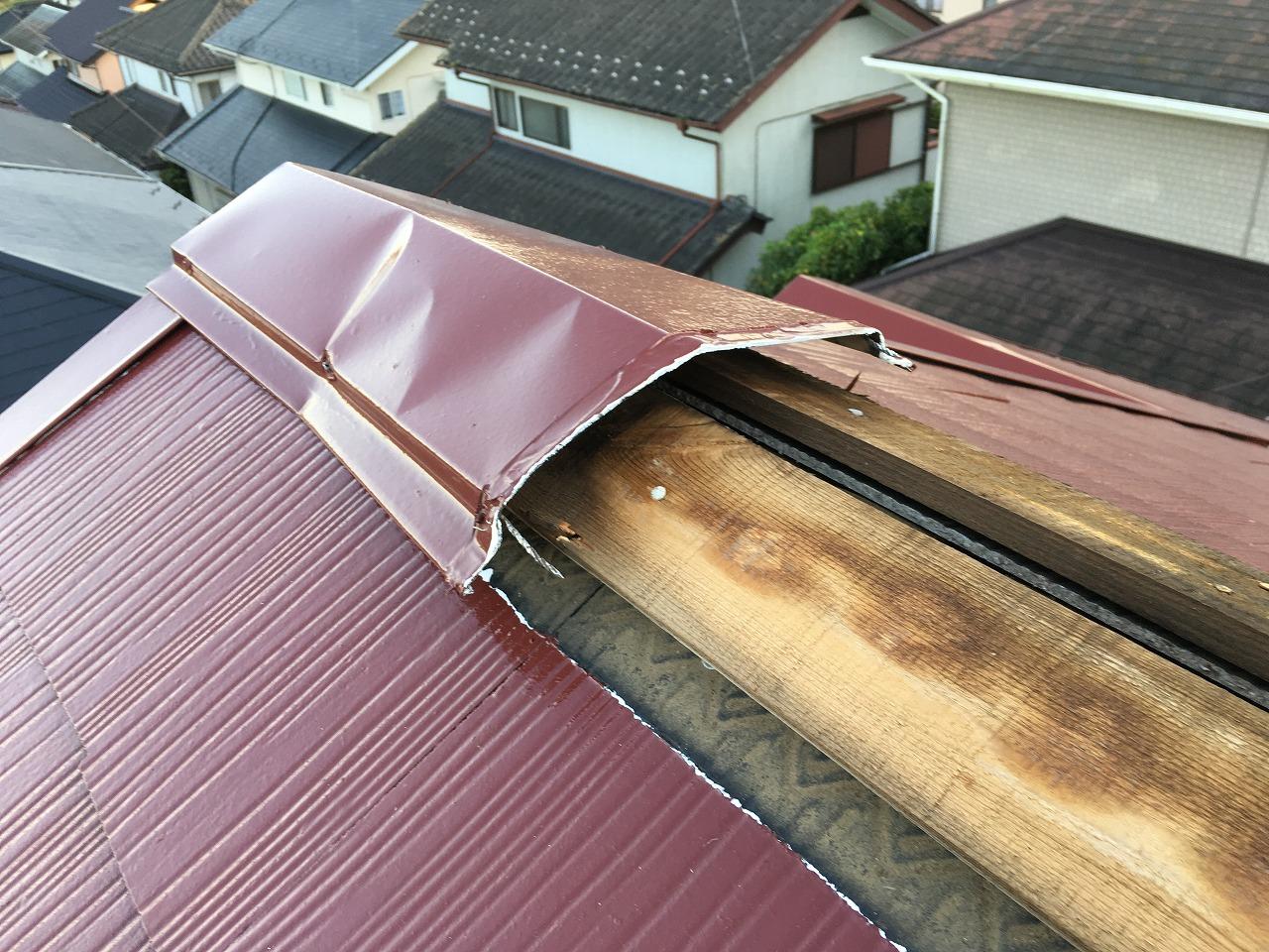 台風被害,屋根修理,千葉県 (1)
