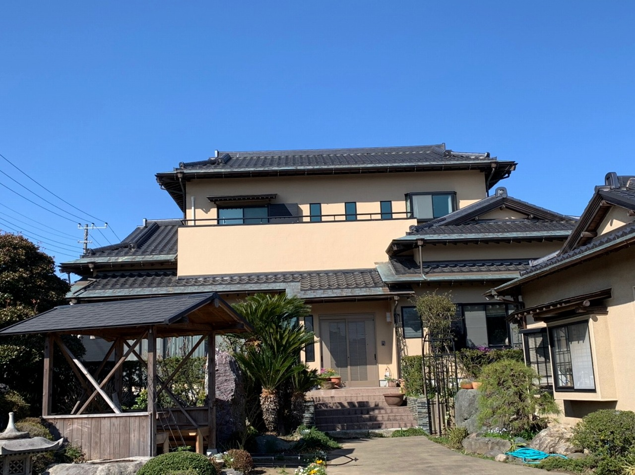 印旛郡U様邸 外壁塗装工事が完成しました!
