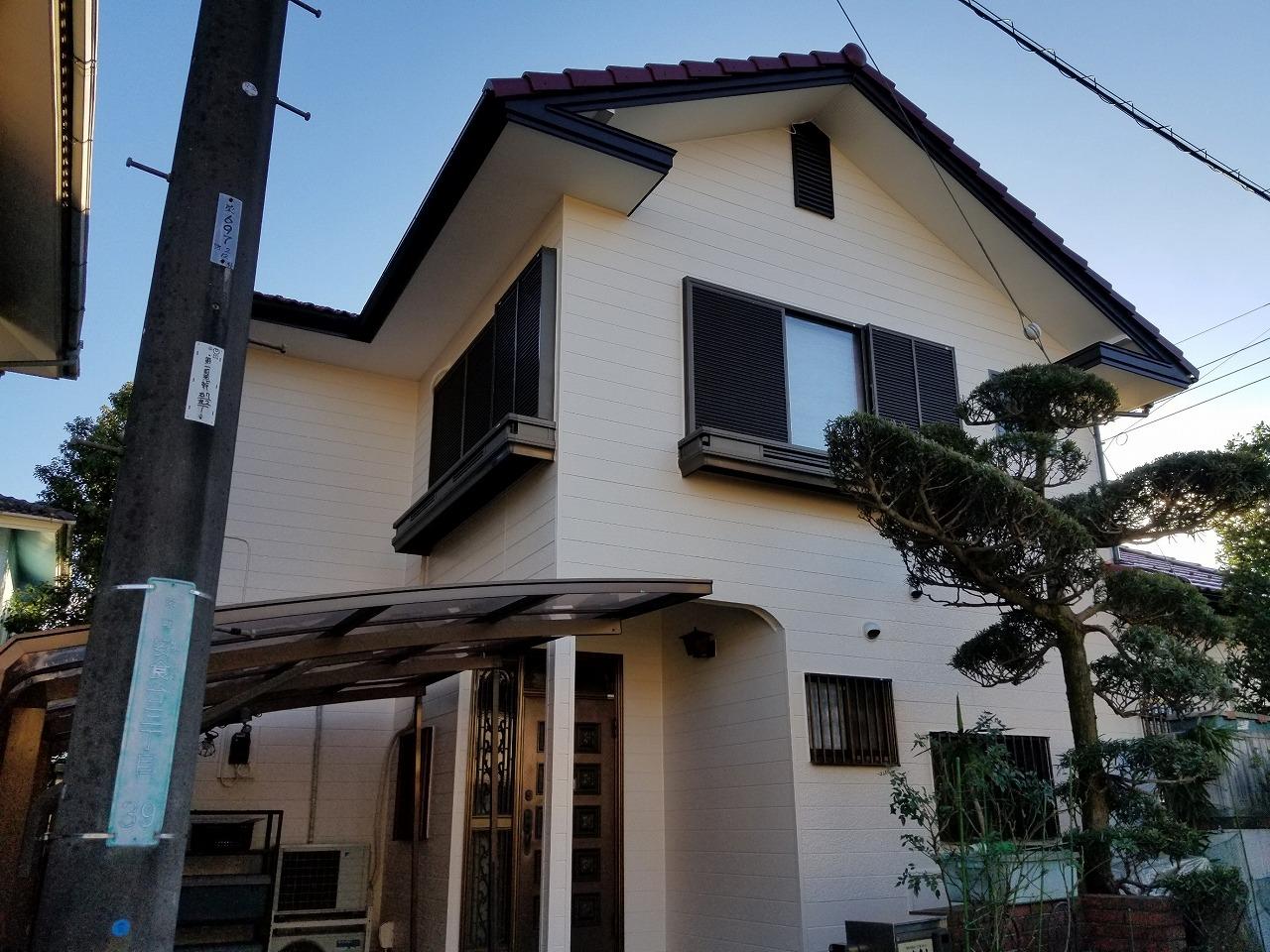 印旛郡T様邸 外壁塗装・屋根塗装工事が完成しました!