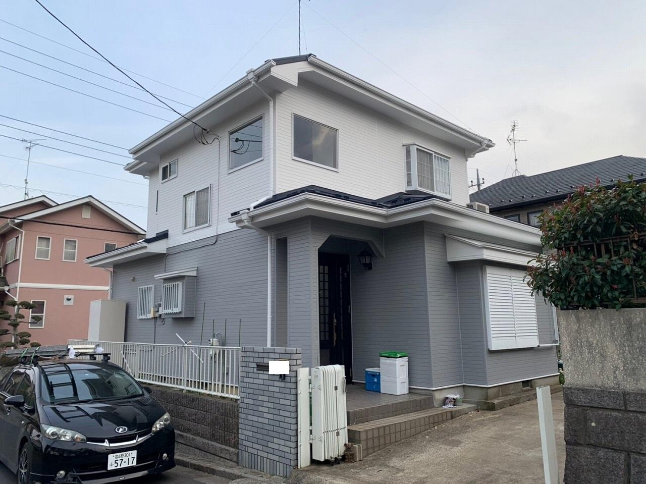印旛郡,外壁塗装,屋根カバー工法 (45)