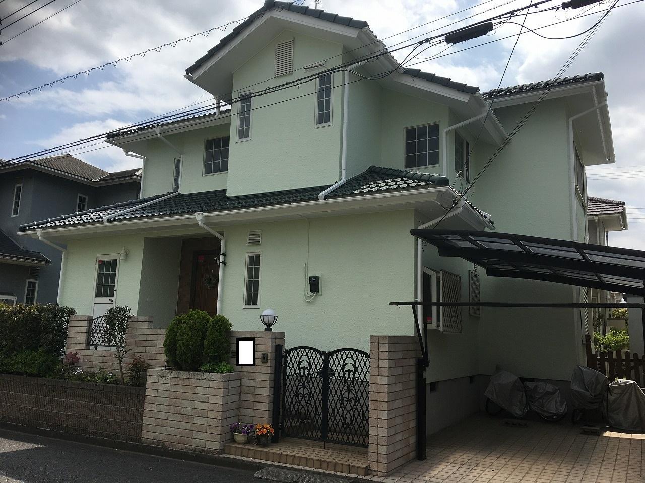 印旛郡M様邸 外壁塗装・屋根塗装工事が完成しました!