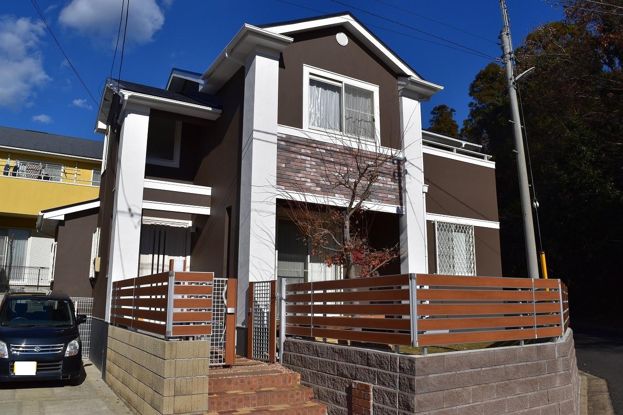 印旛郡K様邸 外壁塗装・屋根塗装工事が完成しました!
