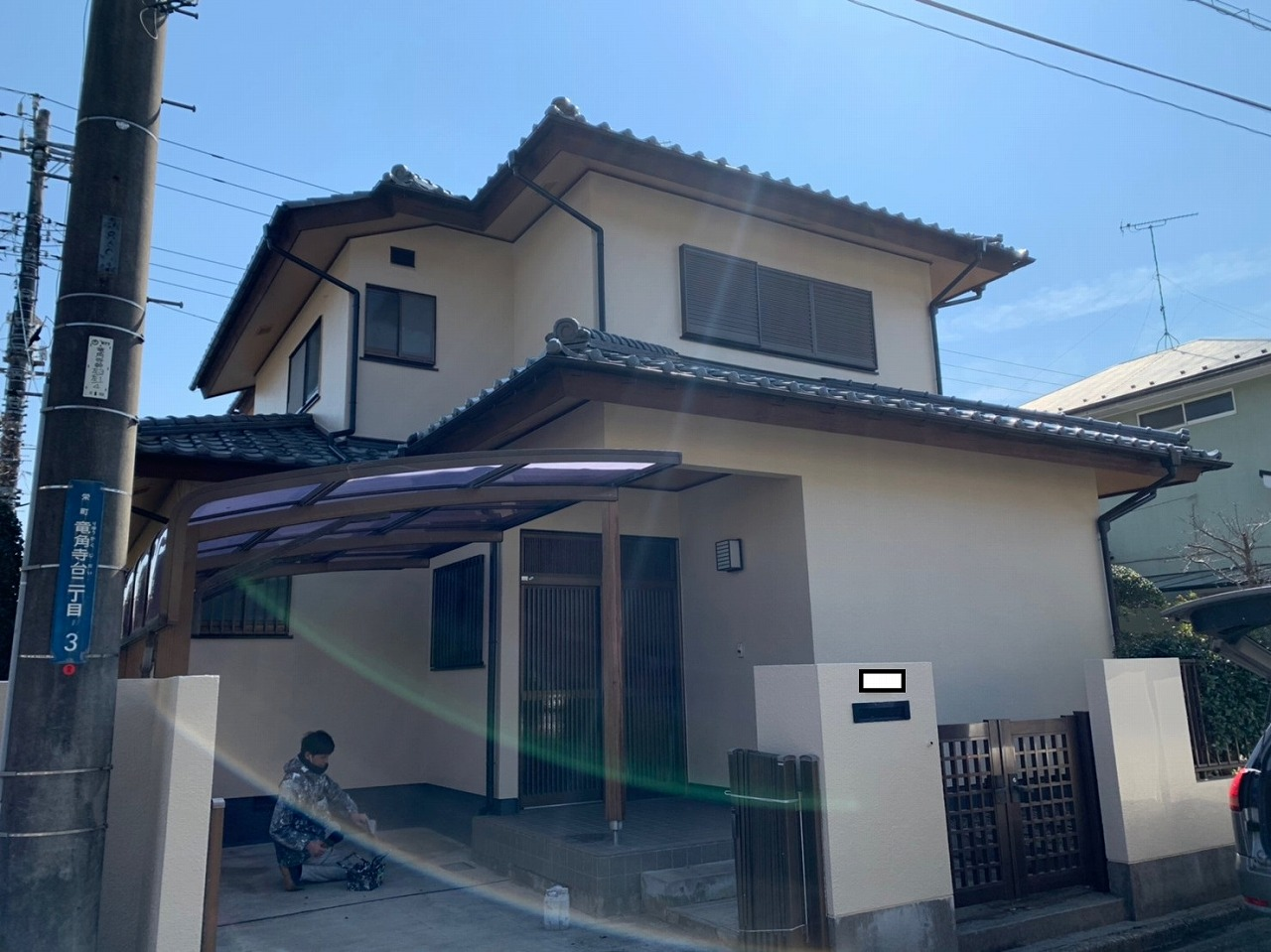 印旛郡I様邸 外壁塗装・屋根塗装工事が完成しました!