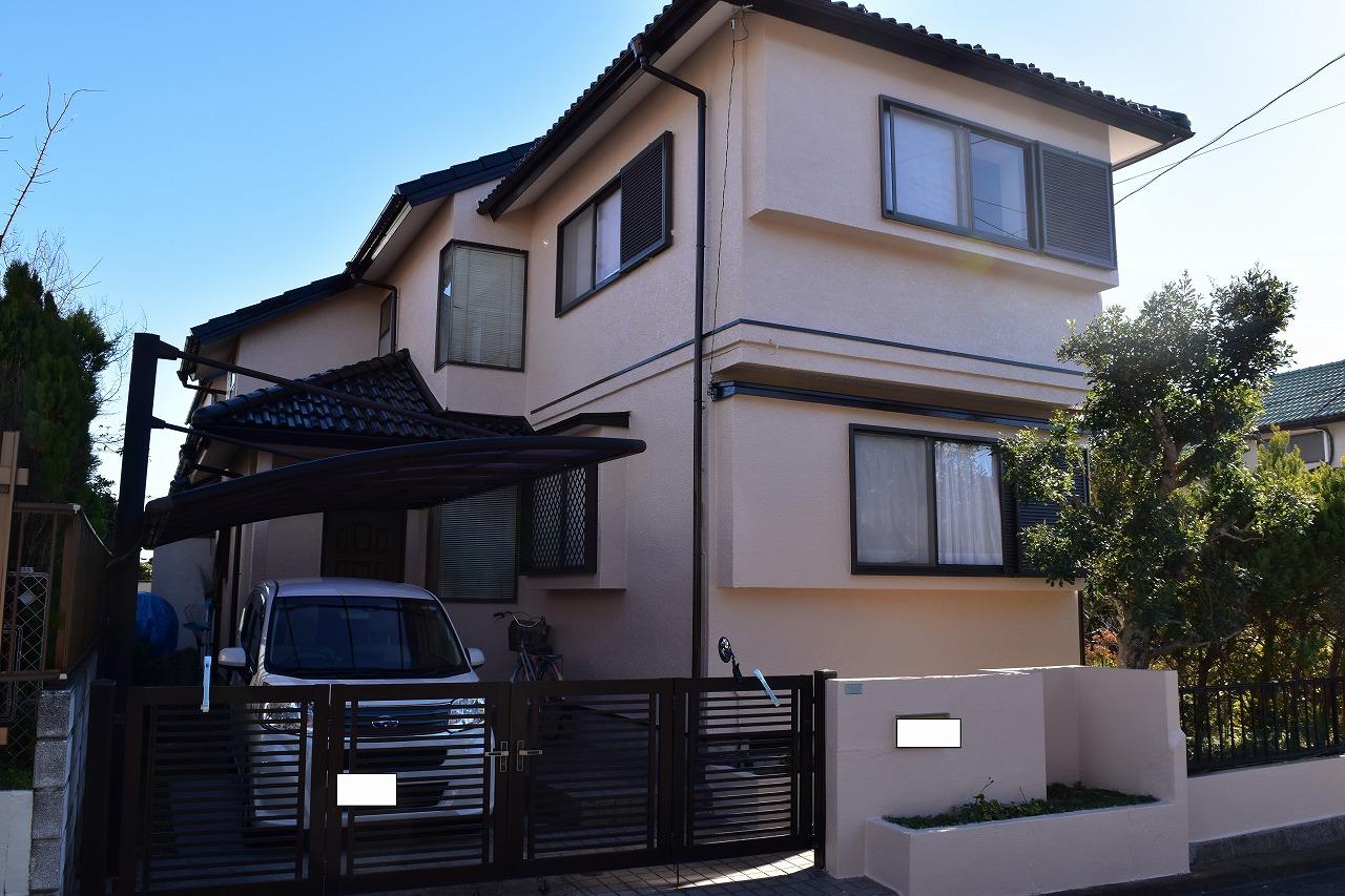 印旛郡H様邸 外壁塗装・屋根塗装工事が完成しました!