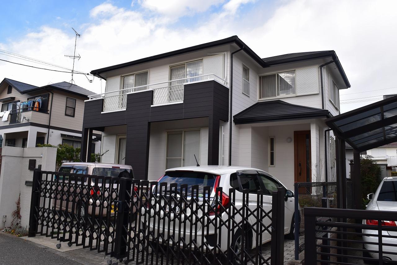 印旛郡K様邸 外壁塗装・屋根カバー工事が完成しました!