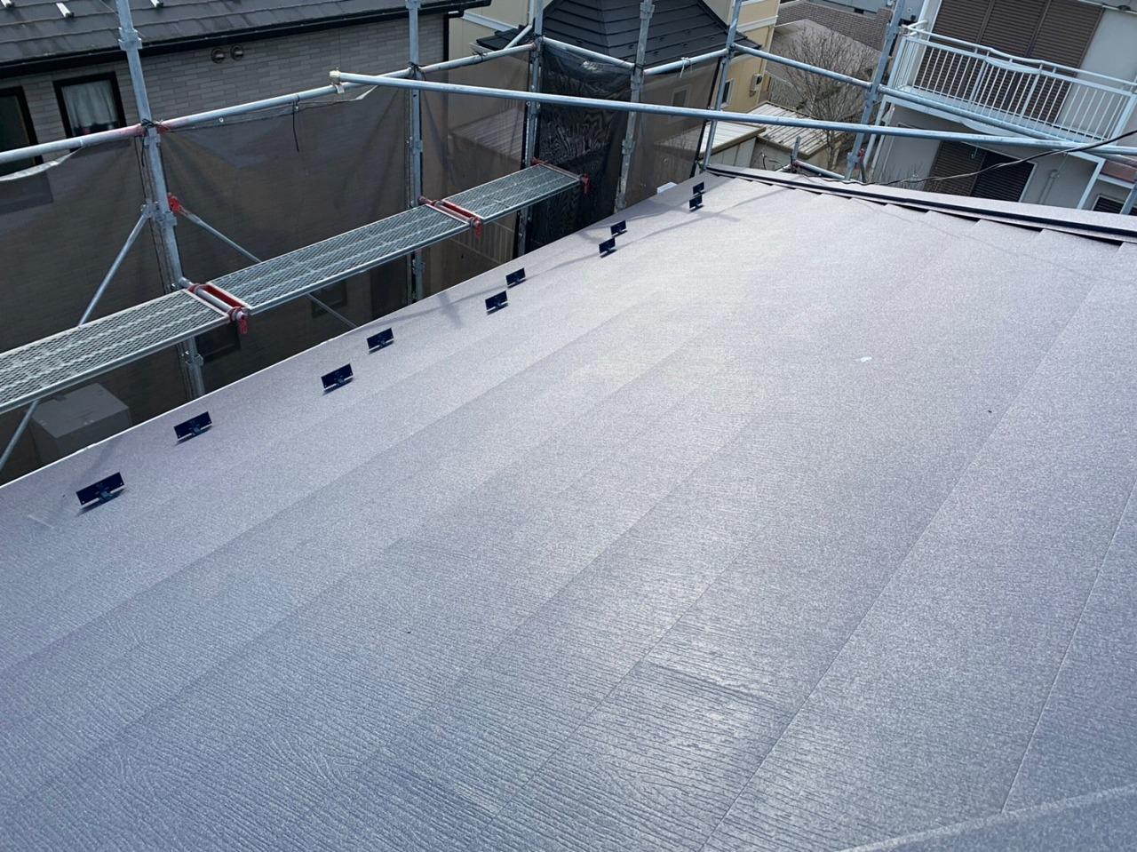 印旛郡,外壁塗装,屋根カバー工法 (43)