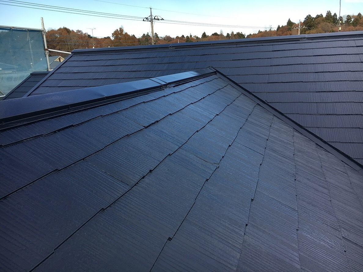 印旛郡I様邸 屋根塗装工事が完成しました!