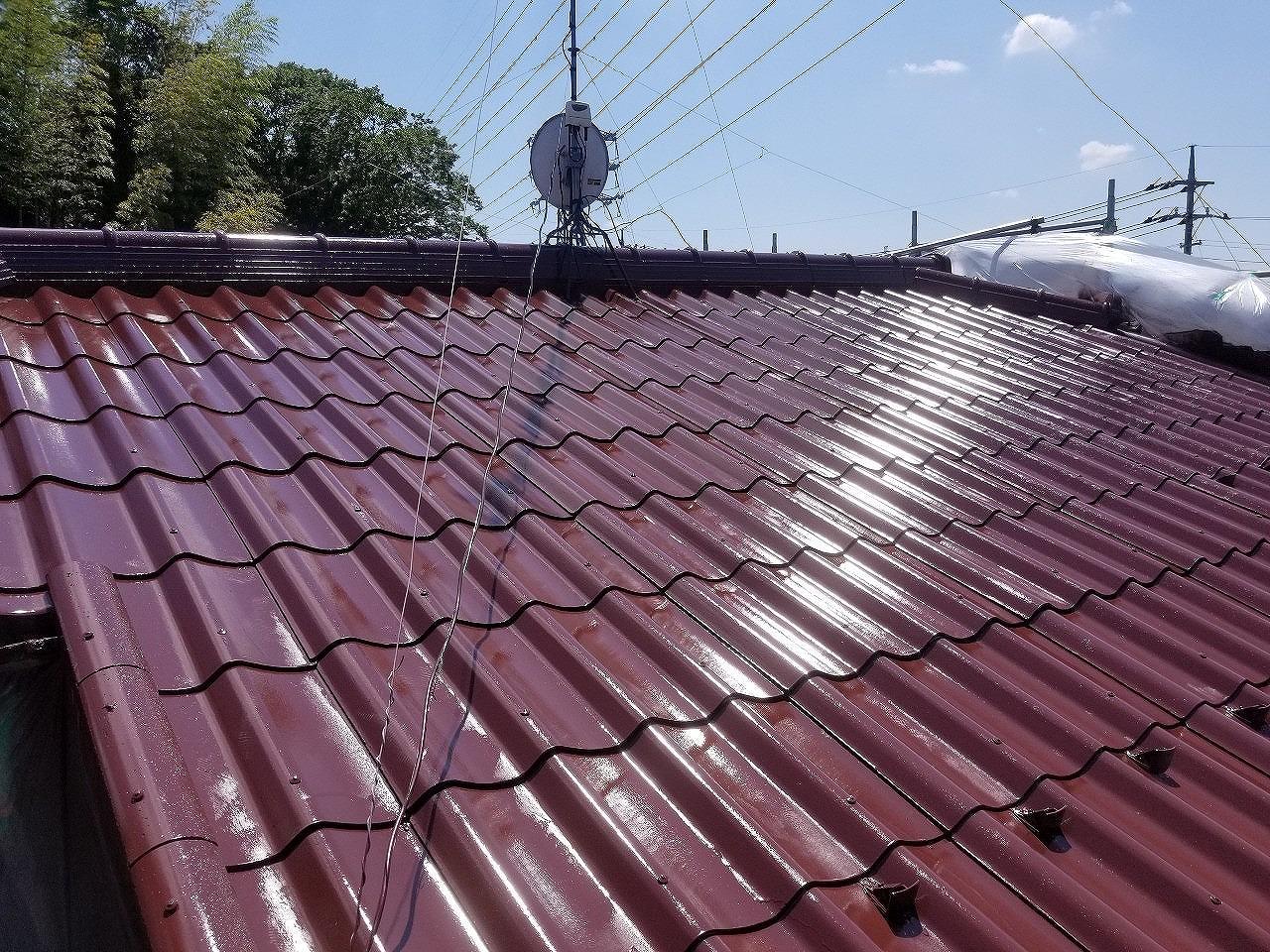 印旛郡,屋根塗装 (6)