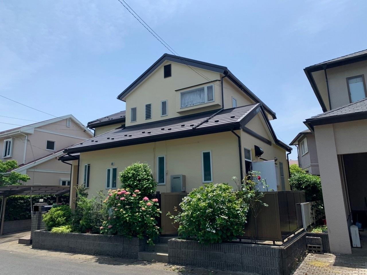 千葉県印西市・外壁塗装・屋根カバー工事 (12)