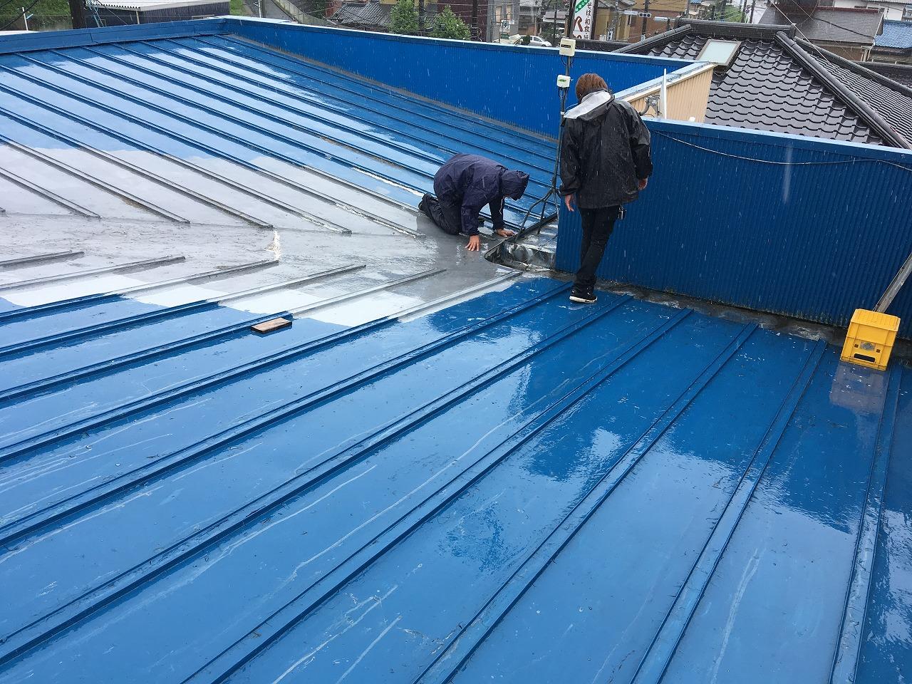 屋根,雨漏り (3)
