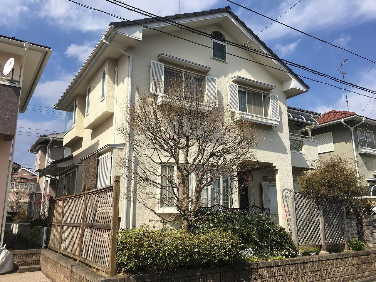 千葉県印旛郡,外壁塗装 (2)