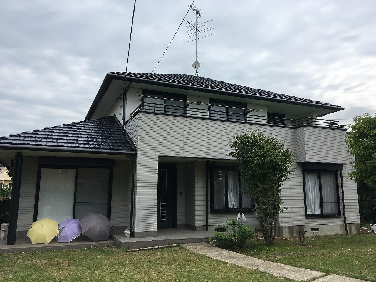 千葉県印西市O様邸 外壁塗装・屋根塗装工事が完成しました!