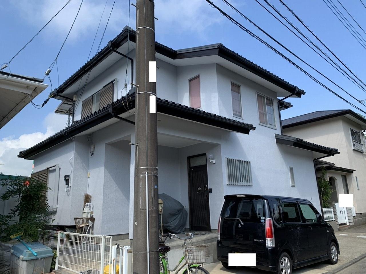 千葉県印旛郡O様邸 外壁塗装工事が完成しました!