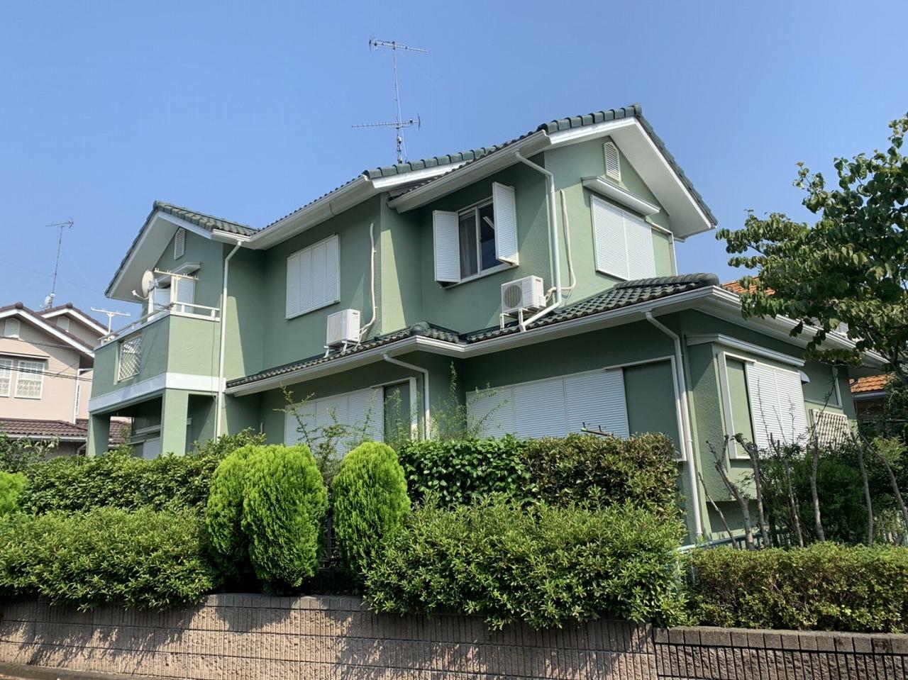 千葉県印旛郡T様邸 外壁塗装工事が完成しました!