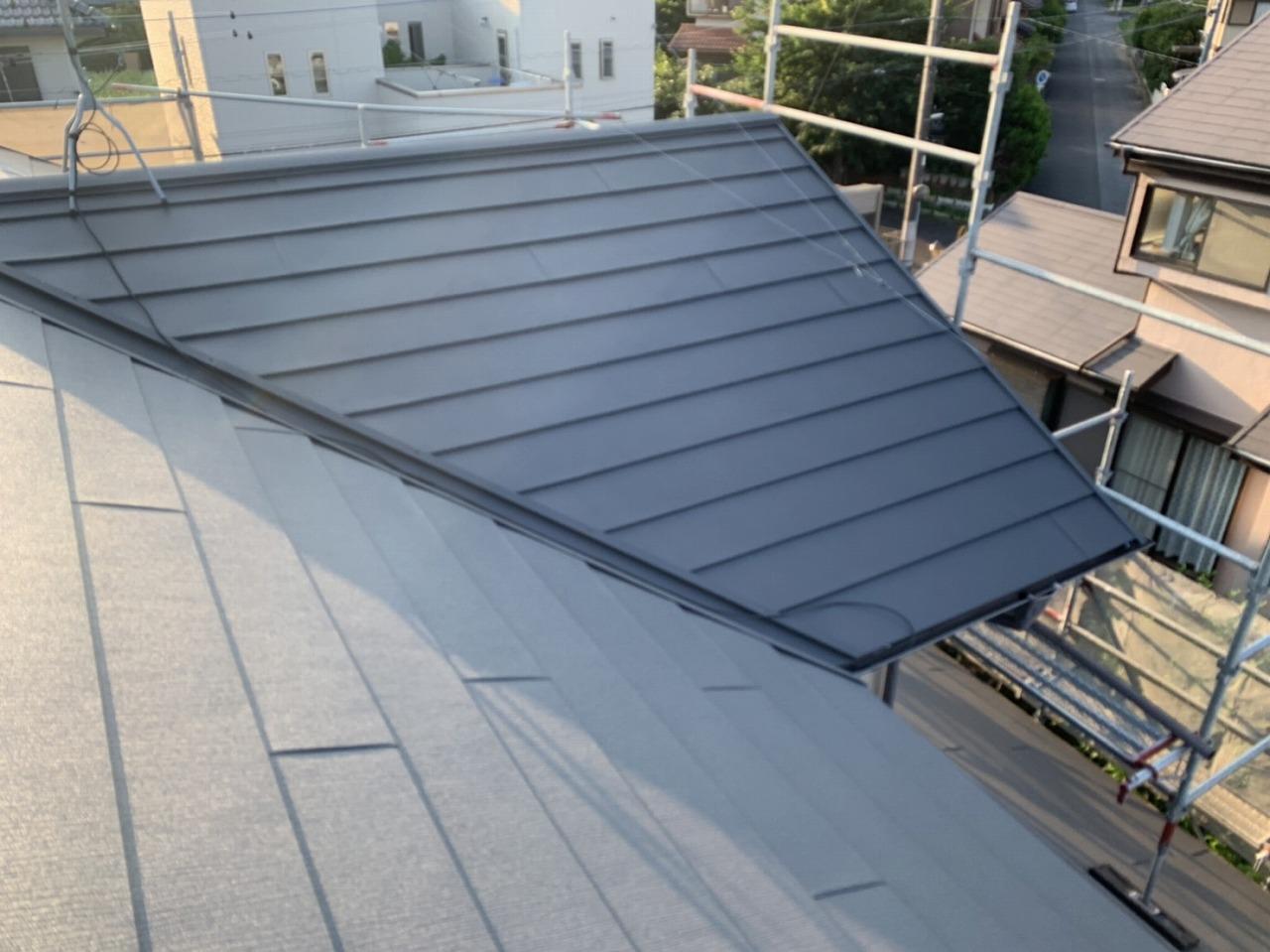 千葉県印旛郡T様邸 屋根葺き替え工事が完成しました!