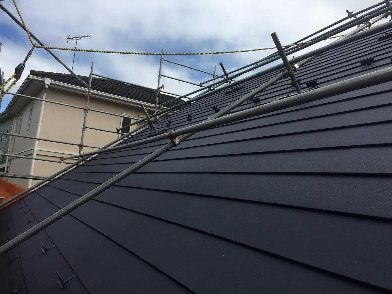 千葉県印旛郡Y様邸 屋根カバー工事が完成しました!