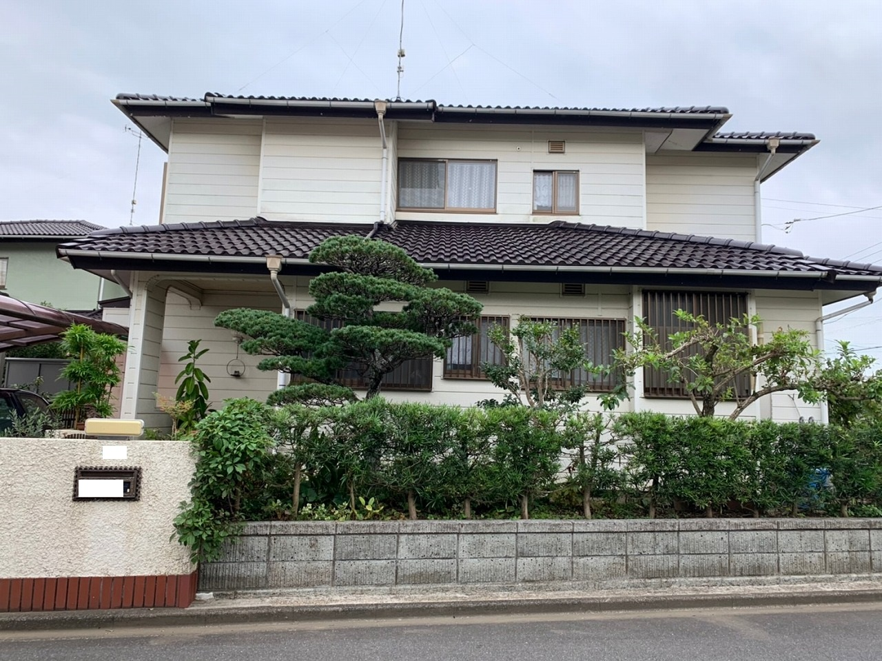 千葉県印旛郡O様邸 屋根塗装工事が完成しました!