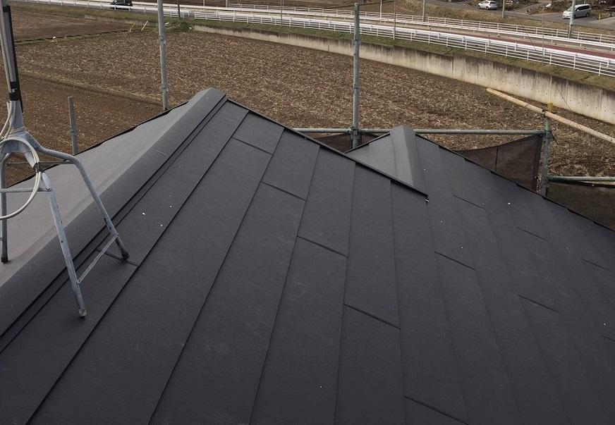 千葉県印旛郡T様邸 屋根葺き替え・修繕工事が完成しました!