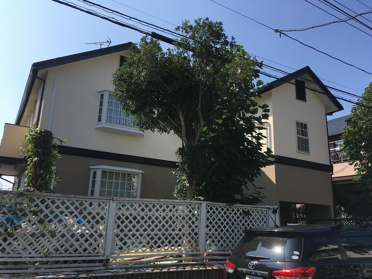 千葉県印西市F様邸 外壁塗装・屋根カバー工事が完成しました!