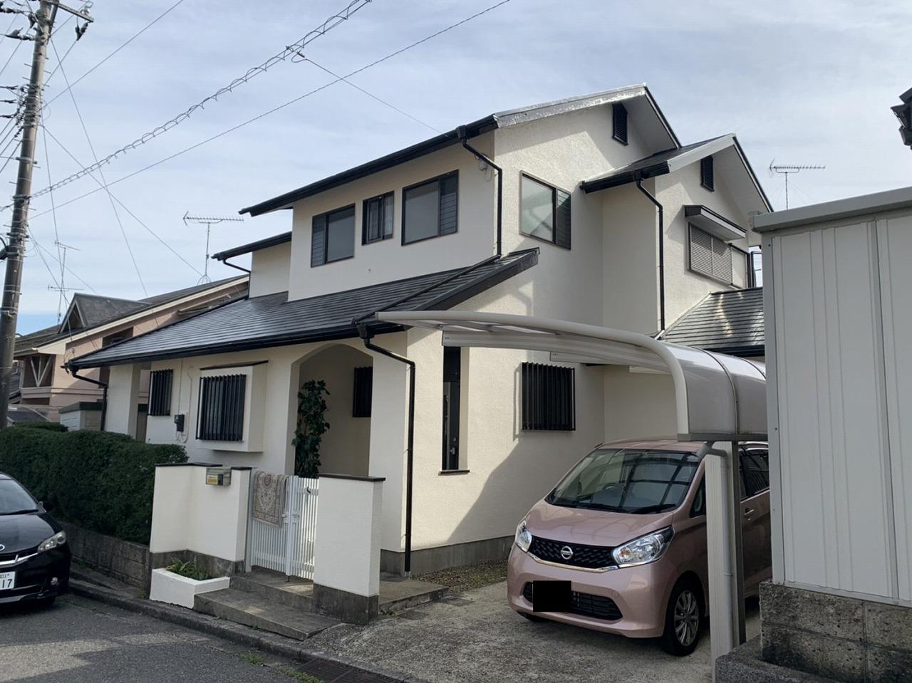 千葉県印旛郡K様邸 外壁・屋根塗装工事が完成しました!