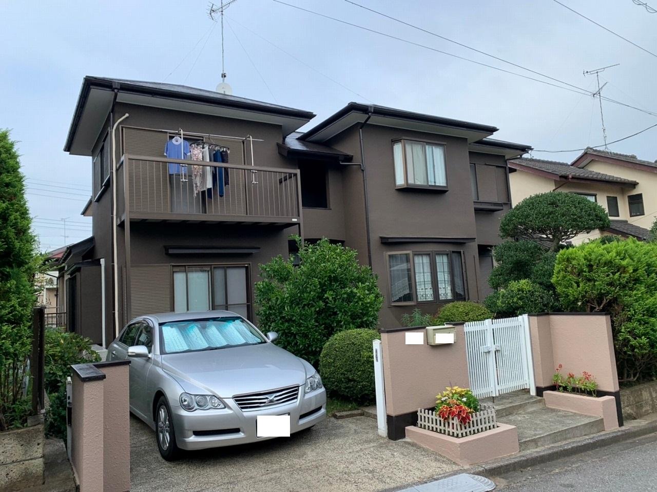 千葉県印旛郡K様邸 外壁塗装・屋根塗装工事が完成しました!