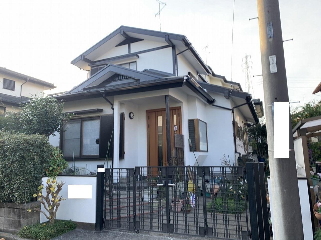 千葉県印旛郡W様邸 外壁塗装・屋根塗装工事が完成しました!