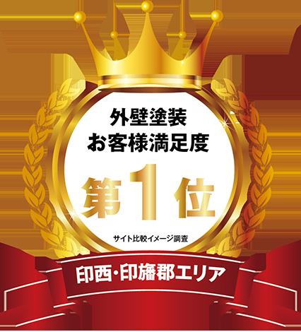 おかげさまで印西・印旛郡エリアで3つのNo.1を受賞いたしました