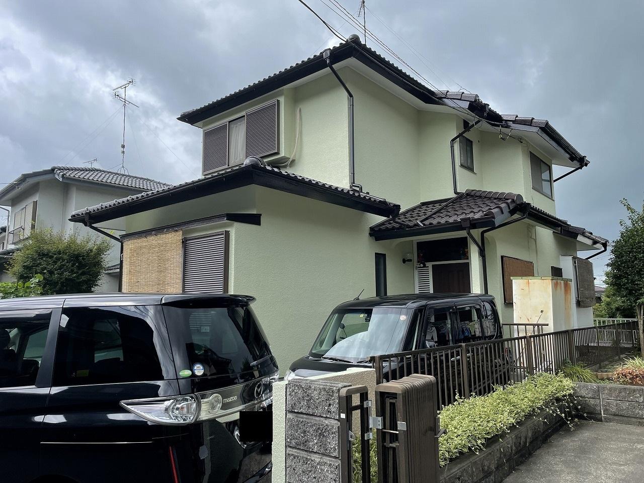 千葉県印旛郡O様邸 外壁塗装・屋根塗装工事が完成しました!