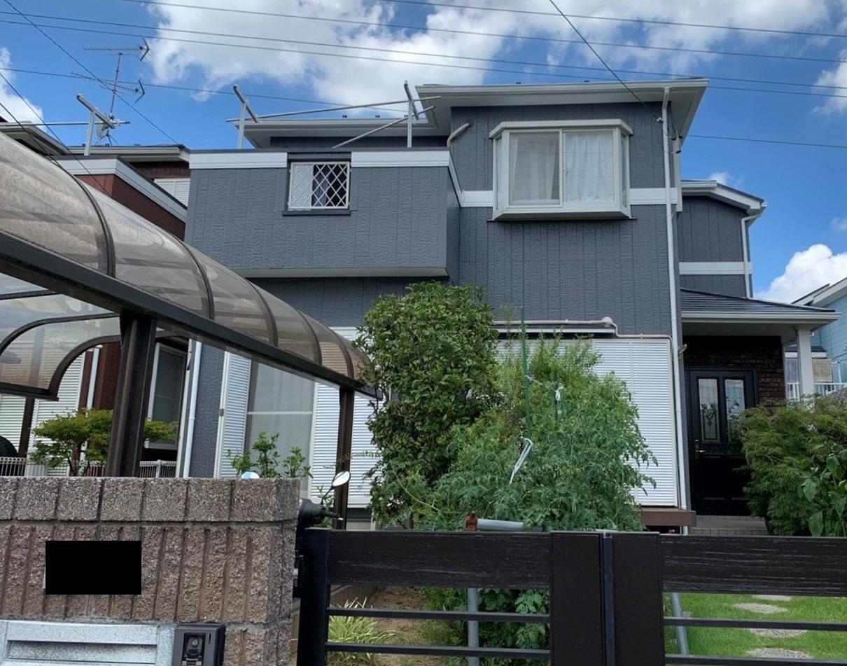 千葉県印旛郡H様邸様邸 外壁塗装・屋根塗装工事が完成しました!
