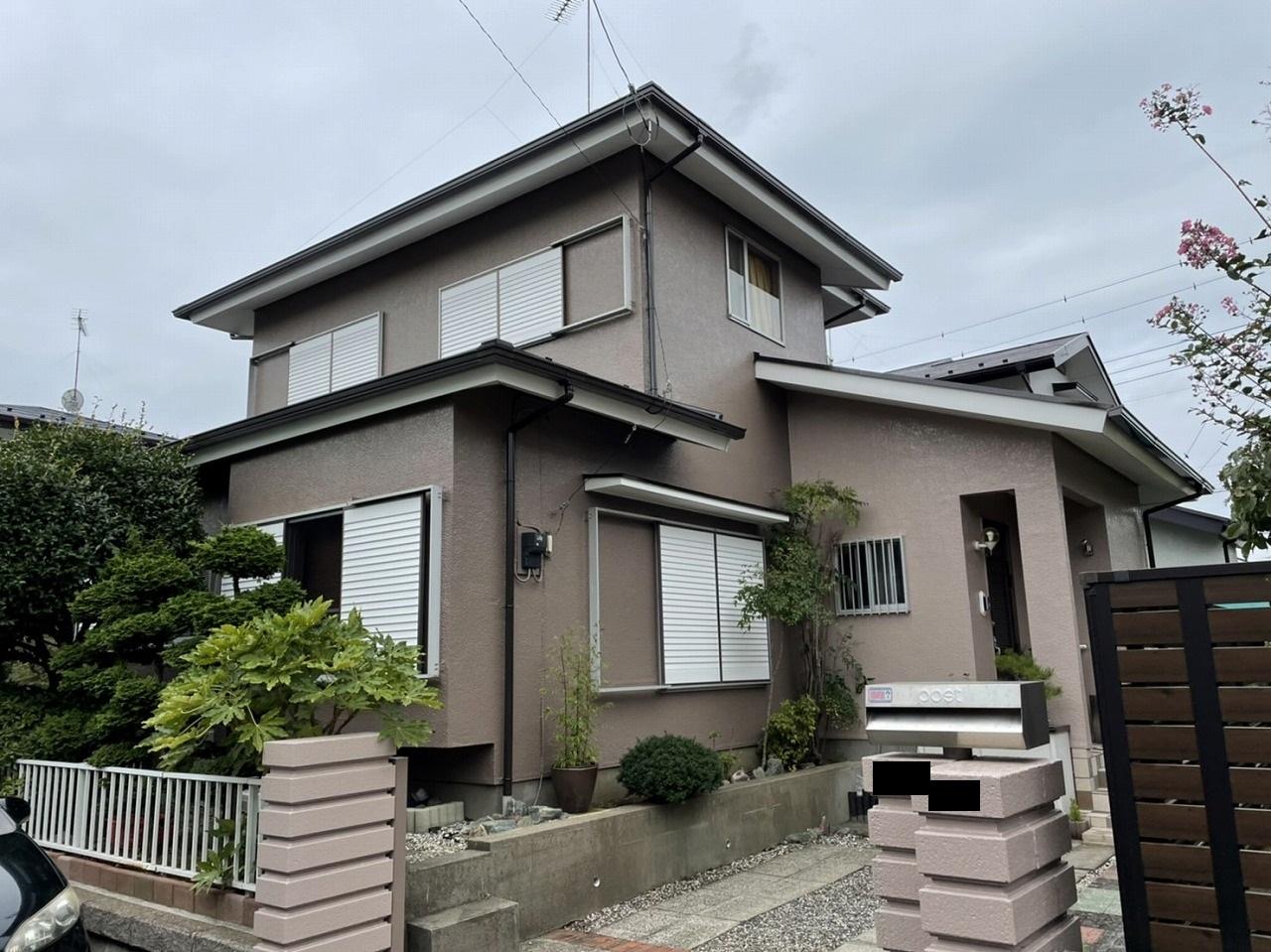 千葉県印旛郡Ⅰ様邸様邸 外壁塗装・屋根塗装工事が完成しました!
